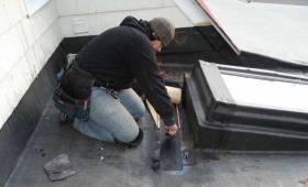 reparation de toiture plate