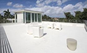 structure de toit terrasse