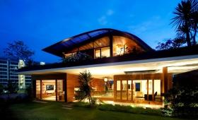 structure de toit design