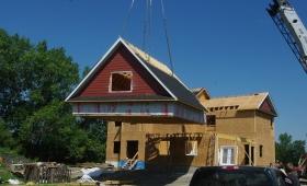 structure de toit montage